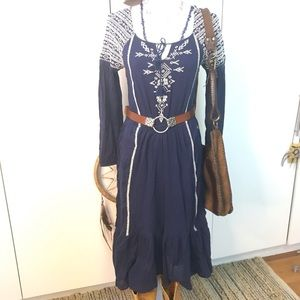 Free People midi dress  XS